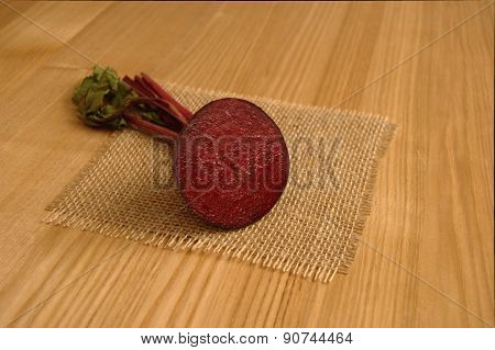 Beetroot (Beet) Sliced in Half