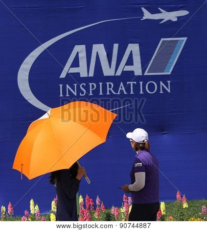 Amy Yang At The Ana Inspiration Golf Tournament 2015