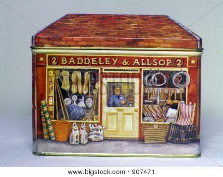 Storefront Decorative Tin