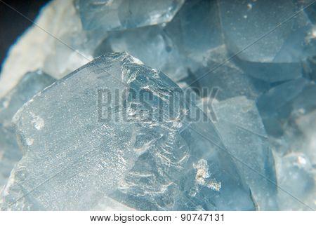 Blue Celestine Mineral