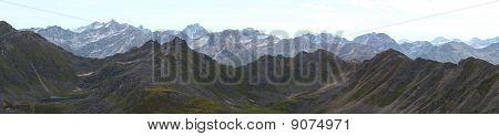 Talkeetna Mountain Panorama