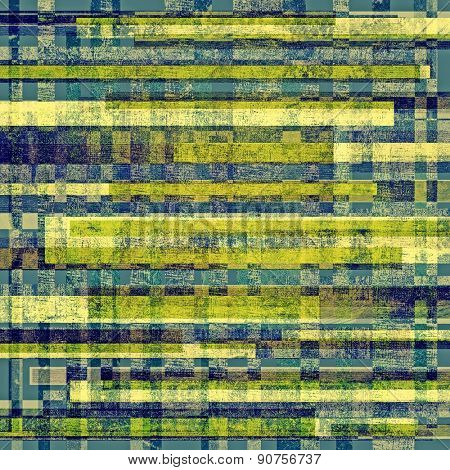 Vintage old texture for background. With different color patterns: yellow (beige); green; blue; cyan
