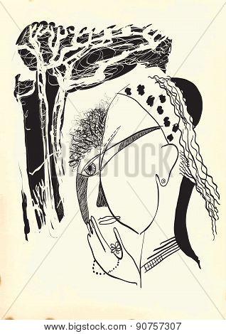 Art Of Line Art - Gypsy