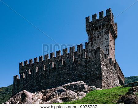 Sasso Corbaro Castle.