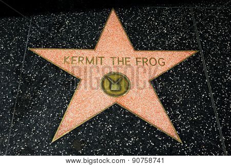 Kermit The Frog Star