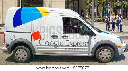 Google Express Delivery Van