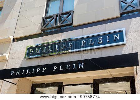 Philipp Plein Retail Store Exterior