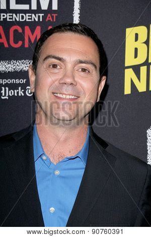 LOS ANGELES - MAY 7:  Joe Lo Truglio at the An Evening With Brooklyn Nine Nine at the Bing Theater at LACMA on May 7, 2015 in Los Angeles, CA