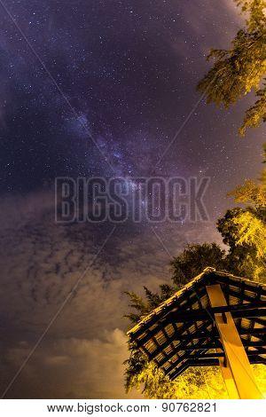 Milky Way At Kuantan Beach, Malaysia