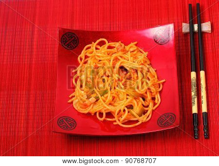 Amatriciana Spaghetti