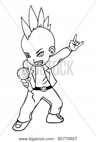 Chibi Rocker