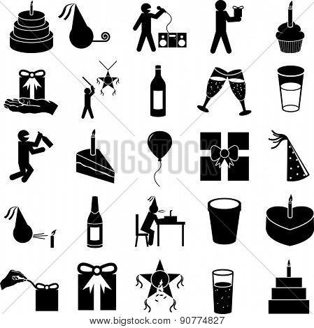 party symbols set