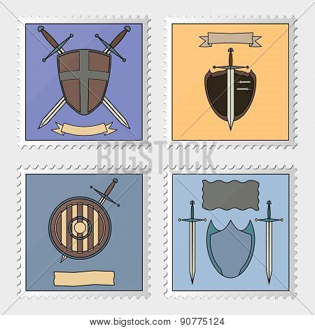 Stamp With Armoury