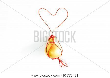 Amulet made of a Calabash for protection against evil