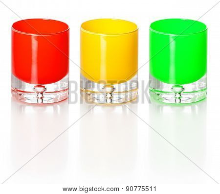 Three Color Glasses