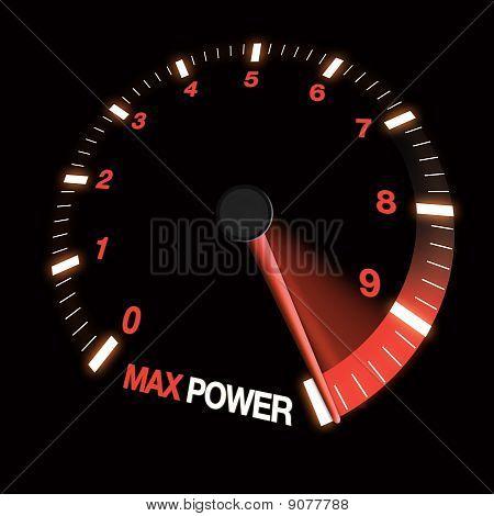 Potencia máxima marcación