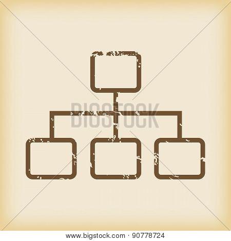 Grungy scheme icon