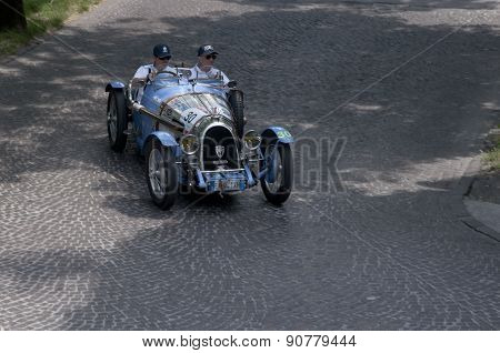 Mille Miglia 2015,the famous race for retro cars