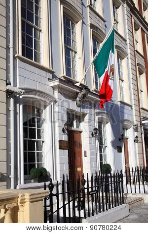Mexico embassy in London
