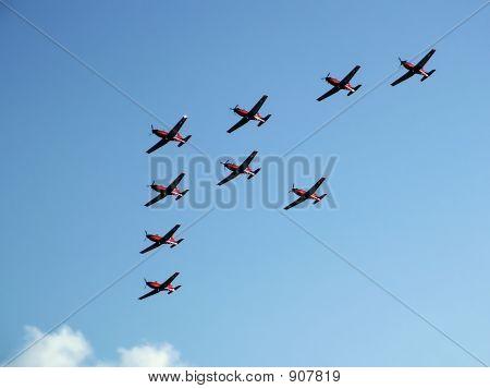 Kunstflugmodell Formation