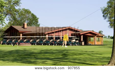 Golf Club House And Carts