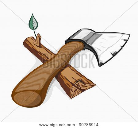 Illustration of ax and log.