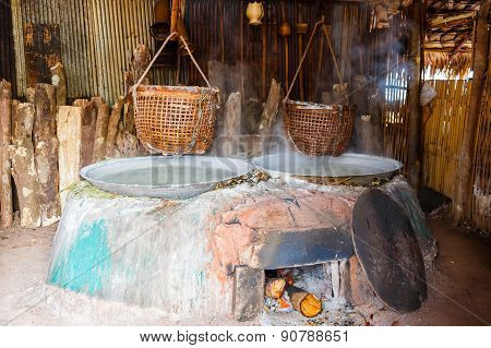 Traditional Salt Making In Thailand