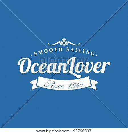 Ocean Lover Nautical Background