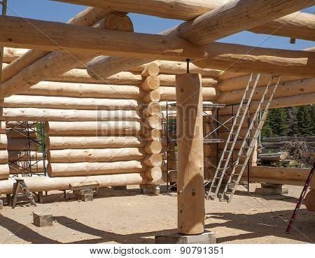 Building a new Log Home