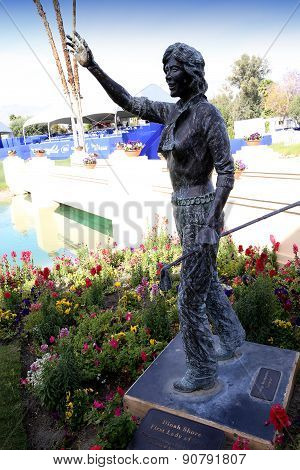 Lexi Thompson At The Ana Inspiration Golf Tournament 2015