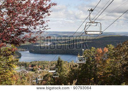 Ski Lift Panorama