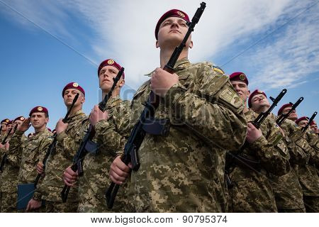 Soldiers Of The Armed Forces Of Ukraine