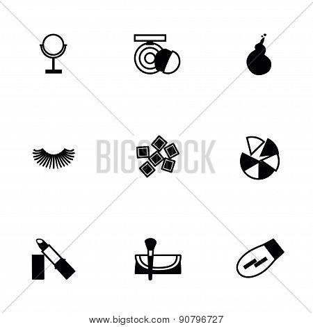 Vector Cosmetics icon set