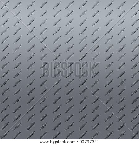Metal texture with convex drawing