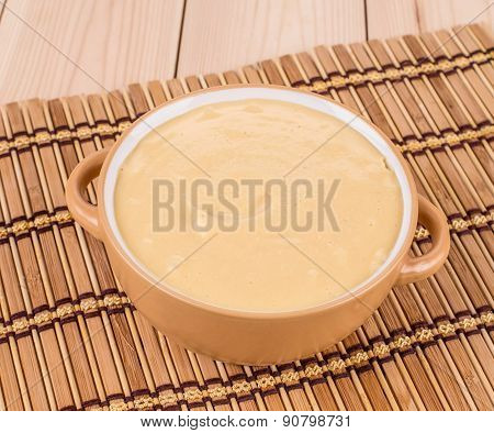 Delicious cream soup