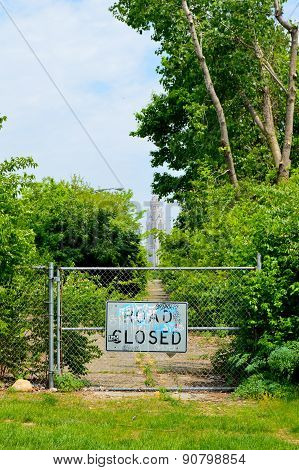 Road Closed - Columbus, Ohio