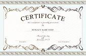 foto of certificate  - Certificate border Certificate template - JPG