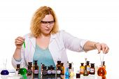 pic of scientific research  - Experiment research in progress - JPG