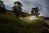pic of stone house  - Nightime stone house campaign - JPG