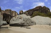 picture of virgin  - Famous The Baths on Virgin Gorda - JPG