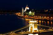 Budapest Landmark poster