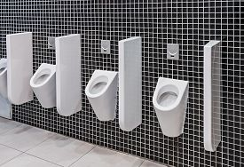 pic of urinate  - urinals in a public toilet - JPG