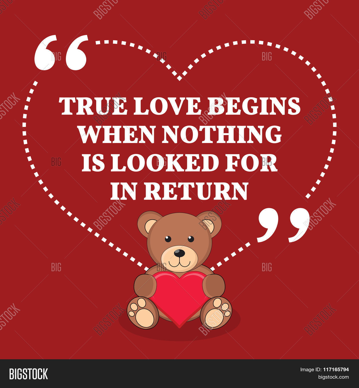 Inspirational Love Marriage Quote Vector & Photo