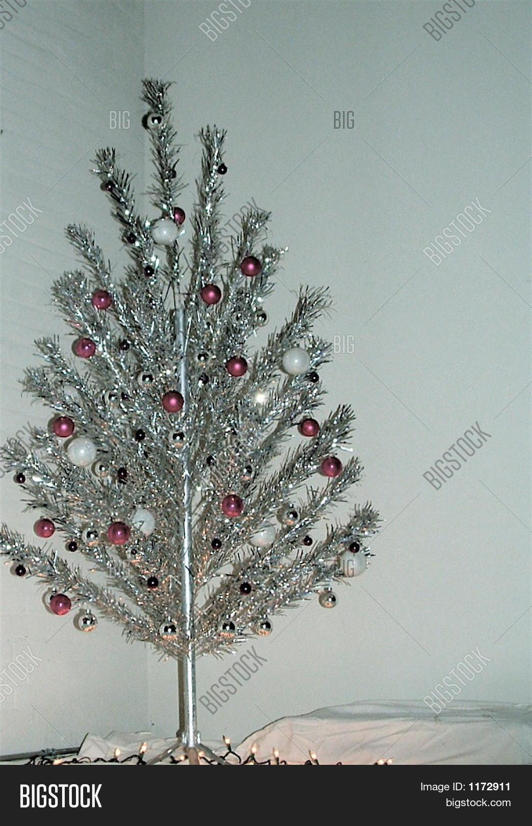 Aluminum minimalist christmas tree image photo bigstock for Minimalist christmas tree