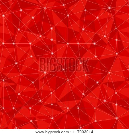 Geometric seamless pattern  from triangles.