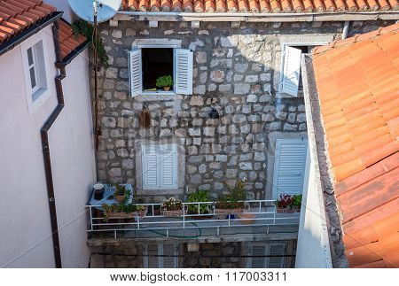 Apartment house in Old Town of Dubrovnik Croatia