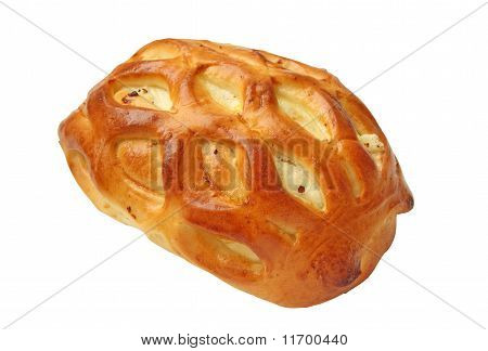 Delicious Fresh Pie Stuffed With Cottage Cheese