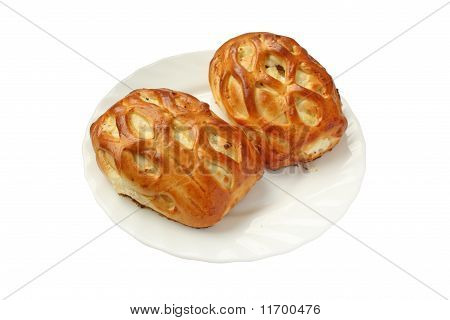 Two Delicious Fresh Pies With Cottage Cheese