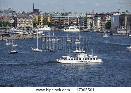 Ferrie in Stockholm