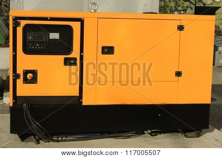 Auxiliary Diesel Eenerator For Emergency Electric Power